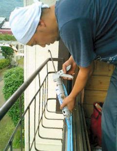 施工例:内付けサッシを使用して、木製建具の窓をリフォーム