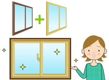 内窓の設置で、日よけ・遮熱対策